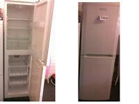 Beko fridge freezer 71 inches high x 21.5 wide Good working order SEE DETAILS BELOW