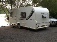 Bailey 430/4 4 berth caravan. 2011. Excellent condition, much loved. Must be seen to be appreciated.