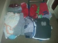 Boys 9-12-18 months clothes