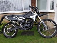 2010 Pulse Adrenaline 125cc Road Legal Off Roader / Dirt Bike Full Size