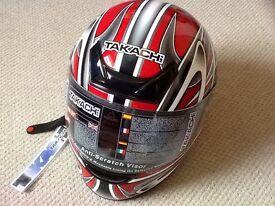 NEW TAKACHI Helmet Size XL