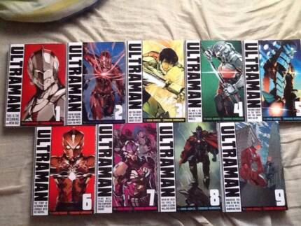 Ultraman manga and other
