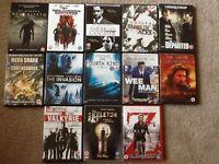 "DVDs certificate 15/18 genre ""man"" films, action and adventure."