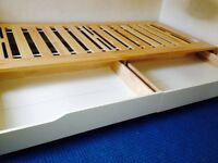 Ikea Mandal single bed with 2 drawers