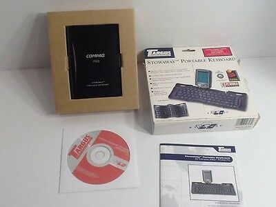 NEW COMPLETE Compaq PA840U Stowaway Portable Keyboard Software Instructions