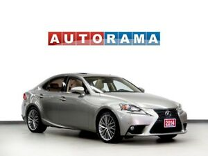 2014 Lexus IS 250 NAVIGATION LEATHER SUNROOF 4WD BACKUP CAMERA