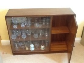 Original 1950s display cabinet