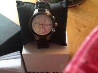 Gents DKNY black watch model no NY8094 all boxed