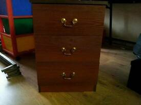 Set of 3 drawers small