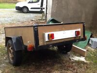 Small trailer for sale 6ftx4ft with lights