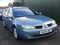 2006 56 RENAULT LAGUNA EXPRESSION 2.0 MOT 01/17 ESTATE (CHEAP PART EX TO CLEAR)