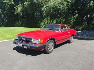Mercedes Benz SL560 1986