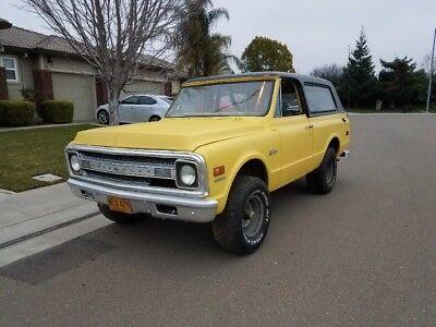 1969 Chevrolet Blazer K5 1969 Chevrolet K5 Blazer Rare Matching #s!