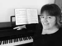 Piano and flute lessons given by patient, kind lady teacher