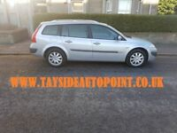 RENAULT MEGANE ESTATE 1.4 ENGINE**** LONG MOT, BRAND NEW CLUTCH, WARRANTY INCLUDED £1495