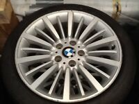 """2016 18"""" BMW 4 Series Alloys With New Run Flat Tyres For Sale"""