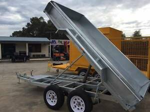 10x5 Heavy Duty Tandem Axle Galvanised Tipper Trailer Adelaide Region Preview
