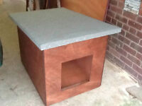 Brand new plywood dog boxes/kennels. £58. Free Delivery.