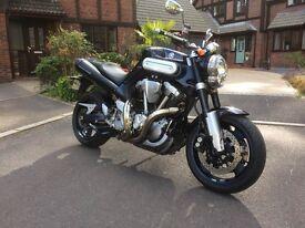 Yamaha MT01 2005 12 months MOT 12000 miles MT10 MT09 MT07 MT03 Suzuki B King Kawasaki Z1000 MT-01