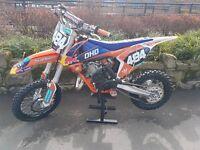 ktm sx 65 2016 mint condition £2499