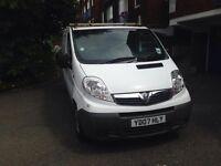 Vauxhall Vivaro 2.0CDTi REG 2007 NEW SHAPE SPARE OR REPAIR WONT START
