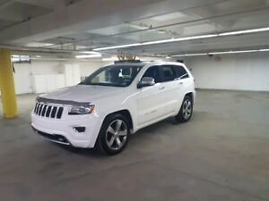 2014 Jeep Grand Cherokee Overland Backup Cam,AC,Leather,Bluet...