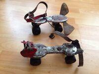 vintage roller skates.