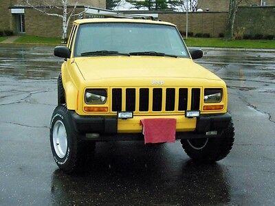 AngryOffRoad- Jeep Cherokee XJ Angry Eyes / Headlight (Jeep Cherokee Trim)