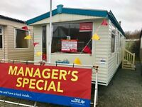 Static holiday home for sale ocean edge holiday park 12 month season first to see will buy !