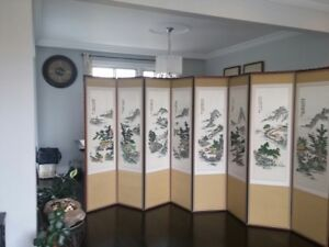 Chinese art screen/room divider