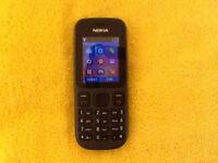 Nokia 100 - Phantom Black (tesco Mobile) cheap Mobile Phone