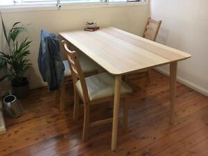 Stylish Dining Table + chairs Tempe Marrickville Area Preview