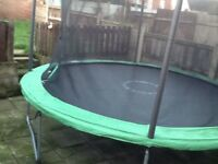 10 or 12 ft trampoline