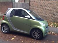 Smart Fortwo, diesel coupe CDi passion 2dr auto (2010)