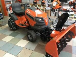 New Husqvarna Tractor/Snowblower Package 42 Blower 48 Mower
