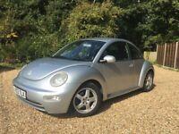 VW Beetle 1.6 03 plate