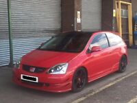 Honda Civic 1.6 Sport - Low Mileage 68k - Great Example - Type R EP3 Integra s2000