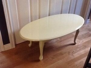 Hint of lime of lime coffee table $50 - 1 available