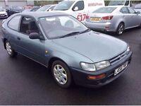1993 Toyota Corolla 1.3 XLi 3 Door