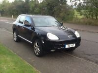 PORSCHE CAYENNE 2005 PORSCHE CAYENNE S 3.2 4X4 TIPTRONIC ESTATE 72000 LOOKS AND DRIVES AMAZING.