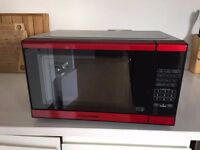 Red Microwave to sell - Morphy Richards EM820 Standard
