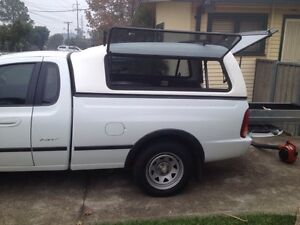 Complete Ford Ute tub and canopy with flip out side windows St Marys Penrith Area Preview