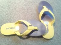 REEBOK Slippers Size 6, BRAND NEW