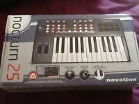 Novation Nocturn 25 USB MIDI Controller Keyboard Synthesizer RRP 169.99 boxed