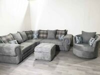 🚚 Delivery Available for CORNERS ONLY VERONA Studded Buttons Sofa Sets