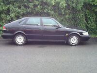 1998saab 9-3 petrol engine 11 moths m.o.t