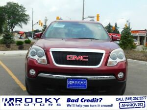 2010 GMC Acadia - BAD CREDIT APPROVALS