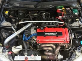 BREAKING!!! CIVIC EG / EJ2 BLACK MAGIC B18 TURBO... b16 , b18 , civic eg , Civic ej2 , Civic ek ,