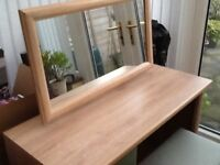 British made bedroom furniture, in excellent condition