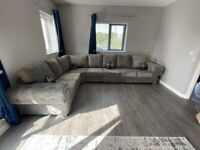 Elegant Verona Corner sofa Scatter back and Full back 4 seater corner to 9 seater available